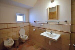 apartmán koupelna wc